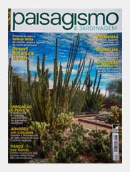 Viacor na revista Pisagismo & Jardinagem